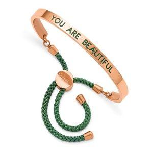 YOU ARE BEAUTIFUL Adjustable Bracelet